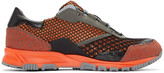 Lanvin Orange Mix Sneakers