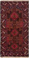 Ecarpetgallery eCarpet Gallery 133488 Hand-Knotted Kazak 3' x 6' 100% Wool Traditional Area Rug