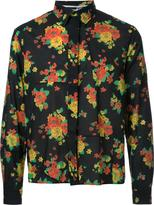 McQ by Alexander McQueen patchwork floral print shirt - men - Cotton - 46