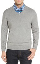 Nordstrom Cotton & Cashmere V-Neck Sweater (Regular & Tall)
