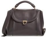 Salvatore Ferragamo Medium Suzanna Leather Satchel - Black