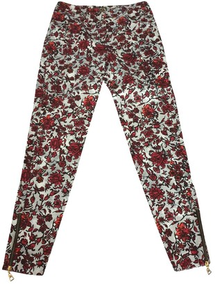 Louis Vuitton Red Denim - Jeans Trousers