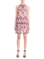 Moschino Bow Detail Printed Dress