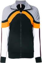 NO KA 'OI No Ka' Oi ruched colourblock track jacket