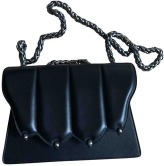 Marco De Vincenzo \N Black Leather Handbags