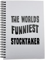 Fotomax Notebook with THE WORLD'S FUNNIEST Stocktaker