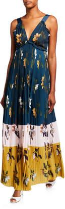 Ted Baker Kaylare Low-V Maxi Dress