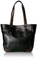 Tignanello Western Vintage Leather Tote Bag