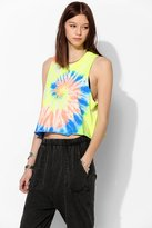 Truly Madly Deeply Rainbow Tie-Dye Muscle Tee