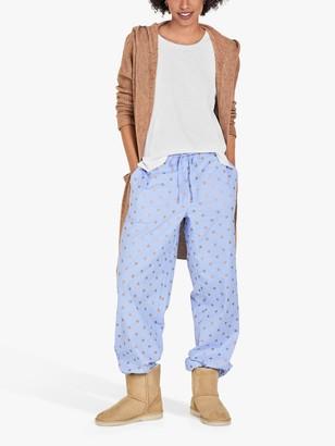 Hush Astrid Foil Star Print Pyjama Bottoms