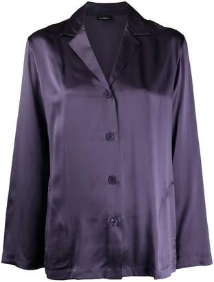 La Perla Longsleeved Wide Leg Silk Pyjama Set