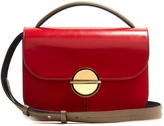 Marni Tuk medium tri-colour leather shoulder bag