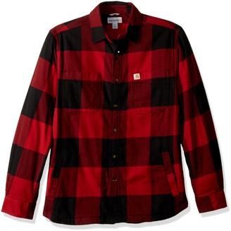 Carhartt Men's Rugged Flex Hamilton Fleece Lined Shirt (Regular and Big & Tall Sizes)