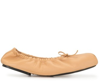 KHAITE The Ashland ballerina shoes