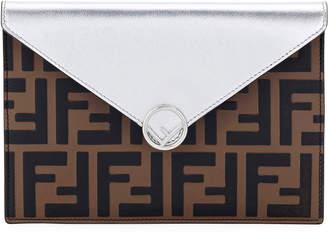 Fendi F Is Busta Calf Envelope Wallet