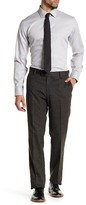 Louis Raphael Oxford Plaid Modern Tailored Fit Trouser