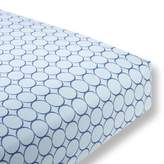 Swaddle Designs Cotton Flannel Fitted Crib Sheet, Jewel Tone Mod Circles
