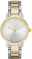 Kate Spade Two-tone scallop gramercy watch