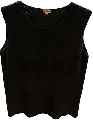 Hermes Navy Silk Tops