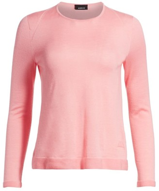 Akris Long-Sleeve Fine Gaugue Seamless Knit Top