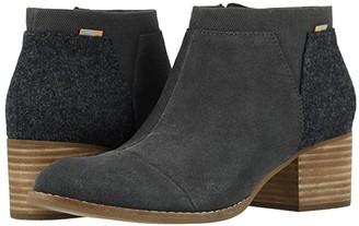 Toms Loren (Taupe Gray Suede/Felt) Women's Shoes