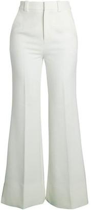 Roland Mouret Dilman Fit--Flare Crepe Pants