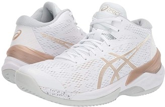 Asics Sky Elite FF MT (White/Frosted) Women's Volleyball Shoes