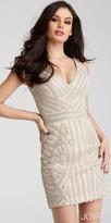 Jovani Fitted Sparkling Rhinestone Homecoming Dress