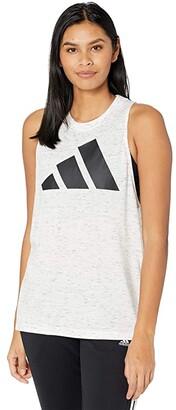 adidas Winners 2.0 Tank Top (Hazy Orange Melange) Women's Clothing