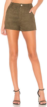 About Us Layla Faux Suede Shorts