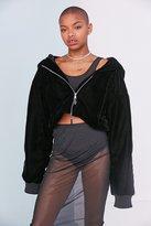 Puma Fenty By Rihanna Cropped Bomber Jacket