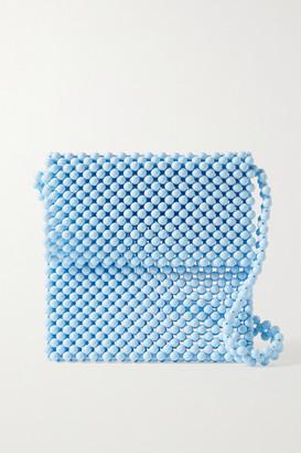 Faithfull The Brand Beaded Shoulder Bag - Light blue