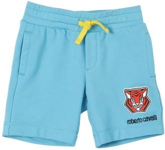 Roberto Cavalli Cotton Sweat Shorts