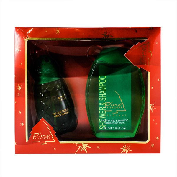 Pino Silvestre Pino EDT and 2-in-1 Shampoo + Body Wash Gift Set