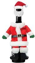 Santa Wine Bottle Outfit Felt Hostess Gift