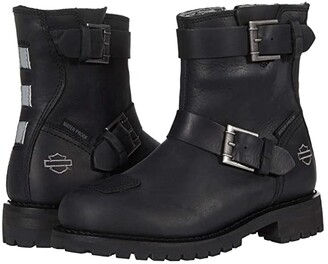Harley-Davidson Bremerton 6 Double (Black) Women's Boots