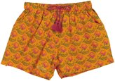 Pink Chicken Camp Shorts (Toddler/Kid)-Autumn Glory-6 Years
