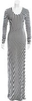 Acne Studios Striped Maxi Dress