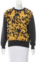 Salvatore Ferragamo Abstract Print Wool Sweater