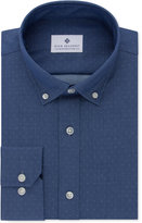 Ryan Seacrest Distinction Ryan Seacrest DistinctionTM Men's Slim-Fit Non-Iron Indigo Dot Dress Shirt, Only at Macy's