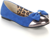 Jelly Beans Royal Blue & Gold Saro Flat