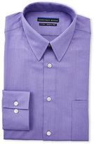 Geoffrey Beene Purple Dobby Fitted Shirt