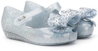 Mini Melissa Glitter Ballerina Shoes