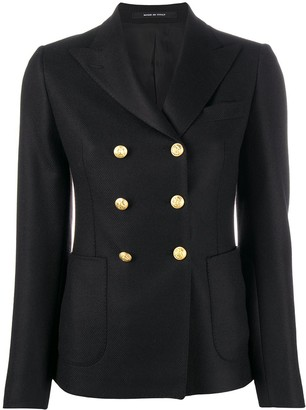 Tagliatore Double-Breasted Military Jacket