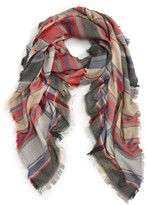BP Women's Plaid Oblong Scarf