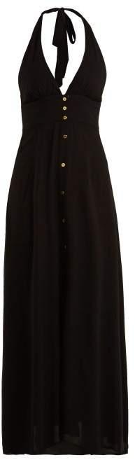 Heidi Klein Oman Halterneck Dress - Womens - Black