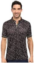 Robert Graham Hills of Sand Short Sleeve Knit Polo