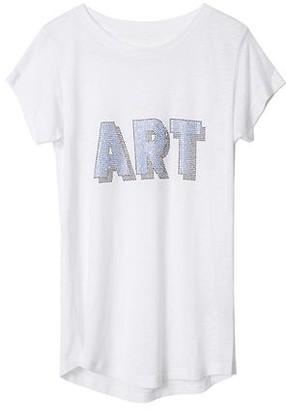 Zadig & Voltaire Skinny 3D Art Us T-Shirt