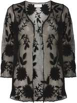 Dorothy Perkins Black Embroidered Lace Cardigan