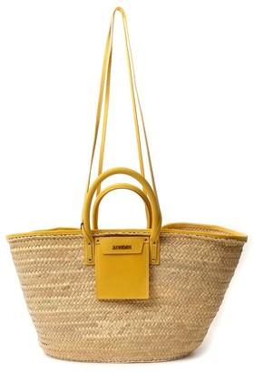 Jacquemus Soleil Woven Basket Bag
